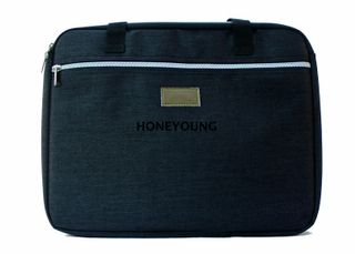 Top Quality Zipper And Embroider Business Computer Bag