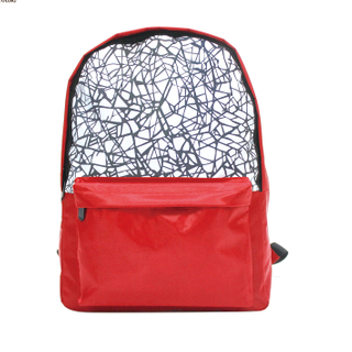 Night Fluorescent Leather material fashion backpack