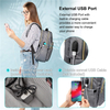 Quilted Stylish Purse Laptop Backpack Wholesale