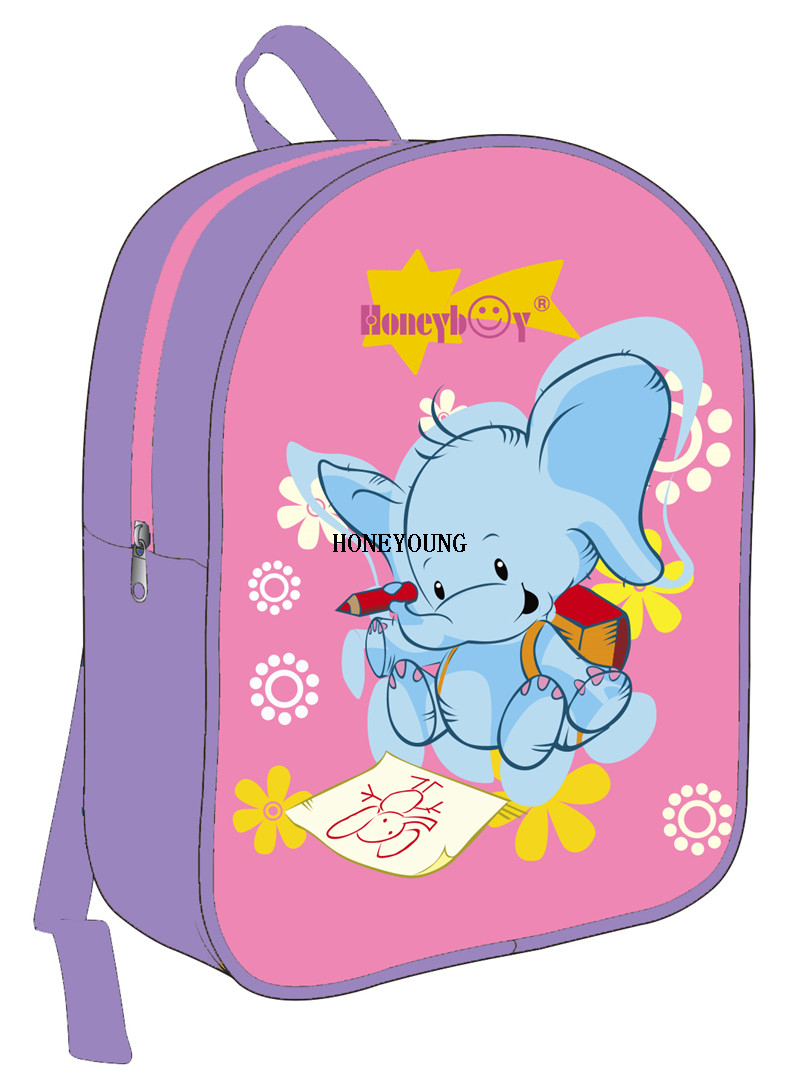 Promotional Girls Boys Cute Pvc Children Bag