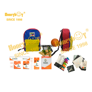 Common Custom Notebook Statinery School Backpack Set HY-G018