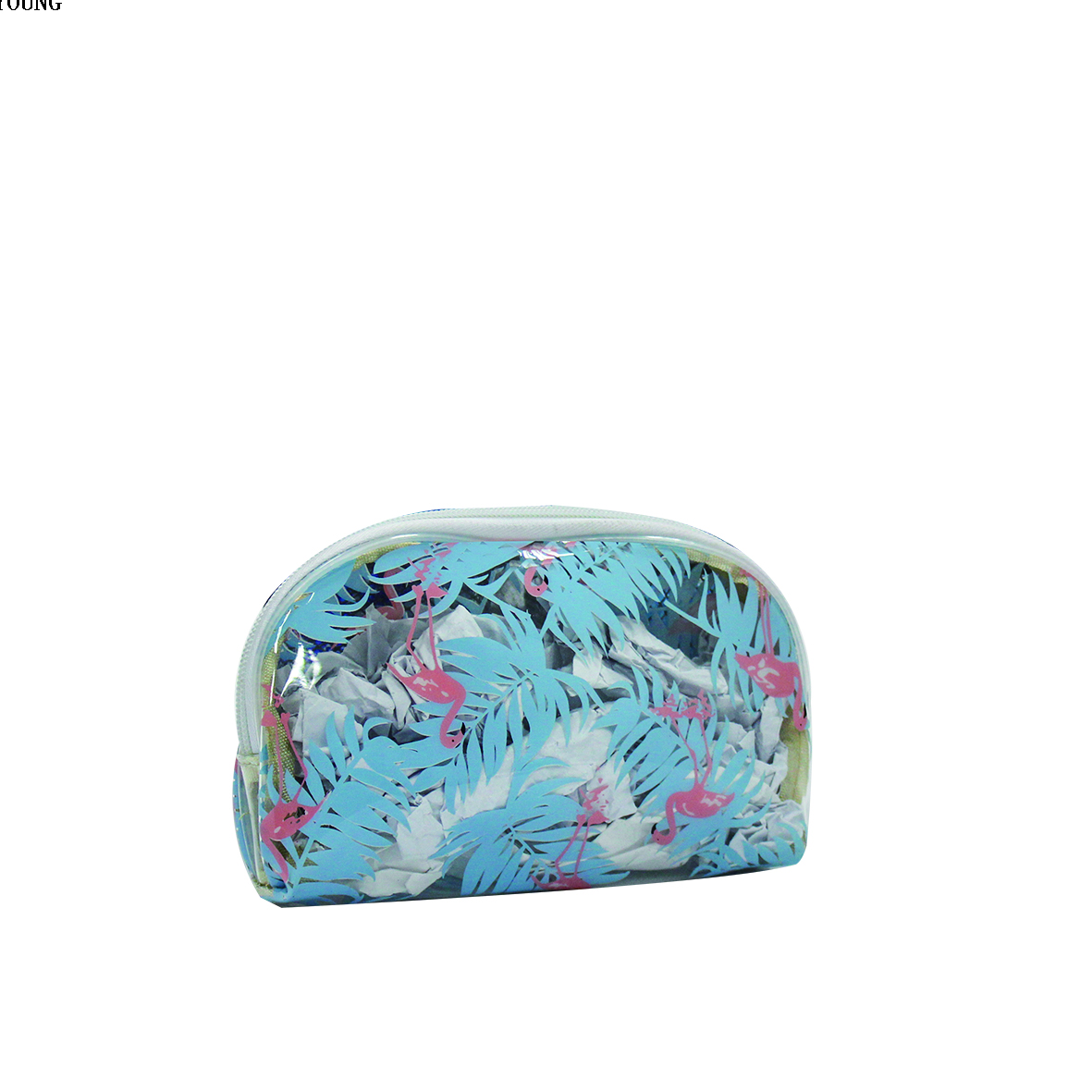 Women Patterned 420D Polyester Fashion Cosmetic Bag HY-T013