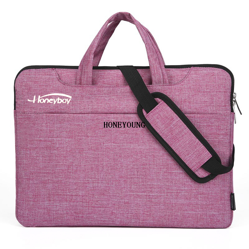 China Supplier Wool Felt Laptop 13/14/15 Inch Bag HY-18A1854