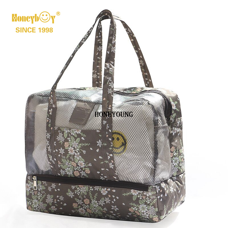 Simple Light Soft Waterproof Pattern Beach Bag