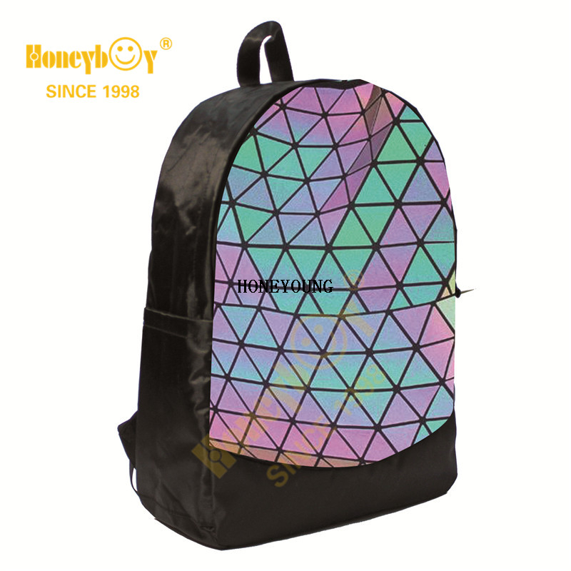 Fashion Best Night Fluorescent Leather Outdoor Backpack HY-A125