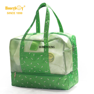 Medium Light Waterproof Pattern Women Beach Bag HY-H004