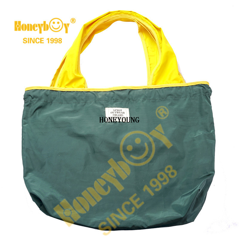 Portable Durable Foldable Supermarket Tote Shopping Bag HYG-010