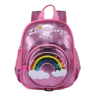 New Design Eco PU Cute Kids Backpack HY-T018