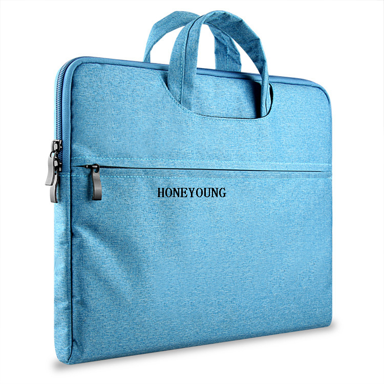ISO BSCI Eco-friendly Degradable Briefcase Laptop Bag HY-A012-7
