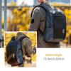 Customized Water Proof Commuter Laptop Backpack with USB Charging Port