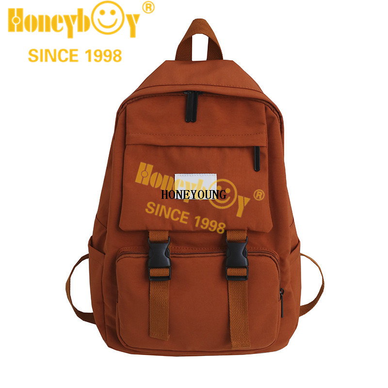 professional fashionable nylon school bag for sale HY-B008
