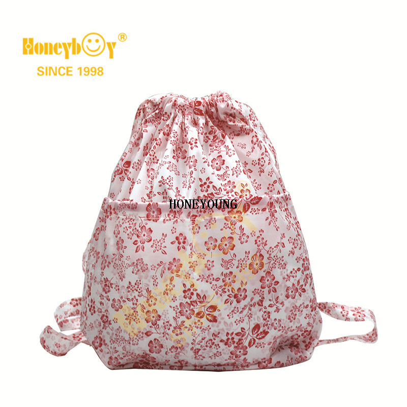 New Style Printing Drawstring Backpack For Girls HY-K004