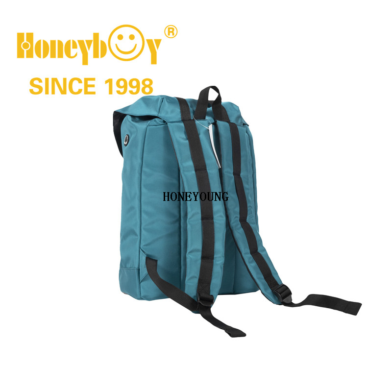 Fashion Design Outdoor Online Soft School Bag with Pu Tape