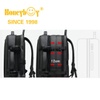 Expandable Waterproof Multilevel Black Farbic Computer Backpack HY-CD001