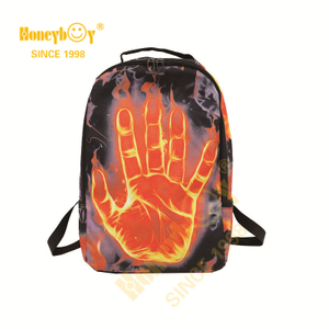 Unisex Daypack Made of HIGH-QUALITY And Durable 100% Polyester Fiber with Smooth Zipper