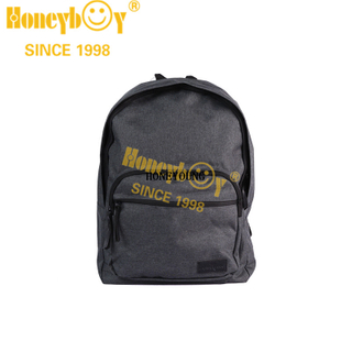 Medium Simple Two Tone Student School Backpack HY-A164