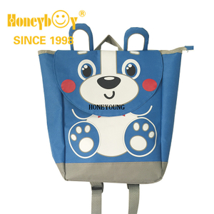 New Design Cute Animal Print 3D Polyester Children Bag