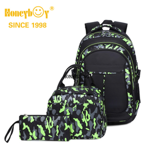 "Kids Backpack for Boys Bobble Mobs Kids School Backpack 18"", Durable with 10 Compartments"
