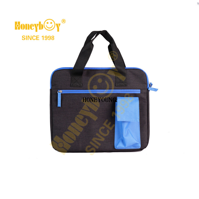 China Hot Sale Light Colour-block Computer Bag HY-I010