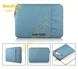 Classic Solid Color Polyester Ipad Computer Bag