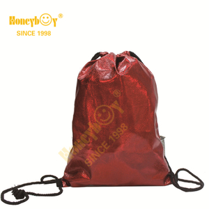 Party Cute Bags PU Fabric Drawstring Backpack HY-K008