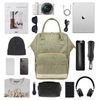 Multi Functional Laptop Backpack with Double Zippers Customized