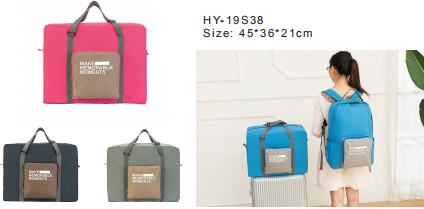 foldable travelling bag