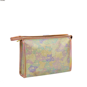 Fashion Style Travel Girls Pu Cosmetic Bag HY-M005